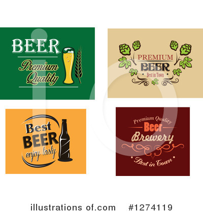 Hops Clipart #1274119 by Vector Tradition SM