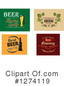Royalty-Free (RF) Beer Clipart Illustration #1274119