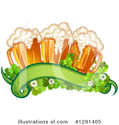 Royalty-Free (RF) Beer Clipart Illustration by merlinul - Stock Sample #1291405