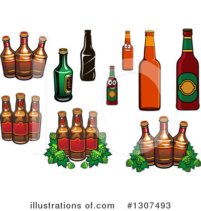 Hops Clipart #1307493 by Vector Tradition SM