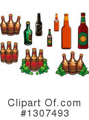 Royalty-Free (RF) Beer Clipart Illustration #1307493