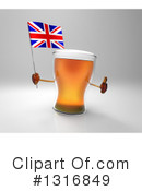 Beer Clipart #1316849 by Julos