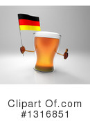 Beer Clipart #1316851 by Julos