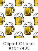 Beer Clipart #1317433 by Vector Tradition SM