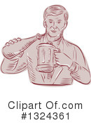 Beer Clipart #1324361 by patrimonio