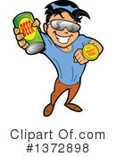 Beer Clipart #1372898 by Clip Art Mascots