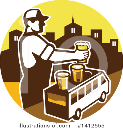 Bus Clipart #1412555 by patrimonio
