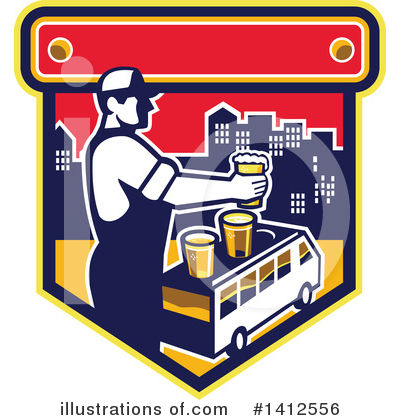 Bus Clipart #1412556 by patrimonio