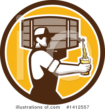 Beer Clipart #1412557 by patrimonio