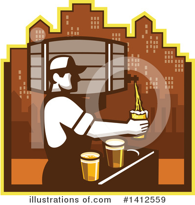 Beer Clipart #1412559 by patrimonio