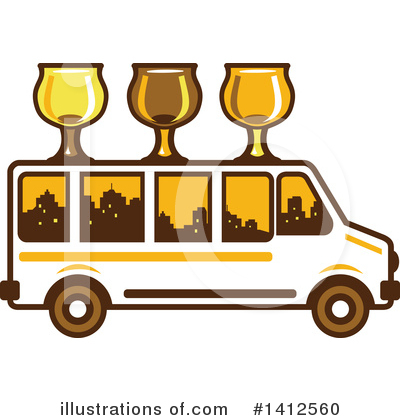 Bus Clipart #1412560 by patrimonio