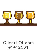 Beer Clipart #1412561 by patrimonio