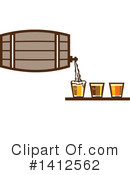 Royalty-Free (RF) Beer Clipart Illustration #1412562