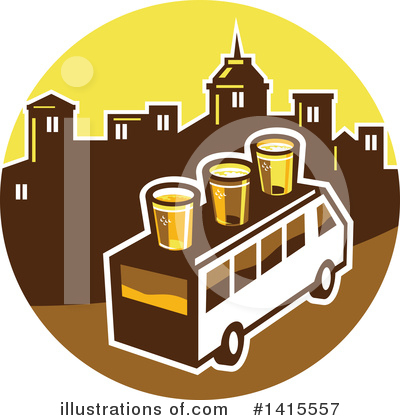 Royalty-Free (RF) Beer Clipart Illustration by patrimonio - Stock Sample #1415557