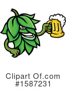 Beer Clipart #1587231 by patrimonio