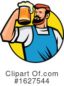 Beer Clipart #1627544 by patrimonio