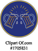 Beer Clipart #1705831 by patrimonio