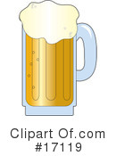Royalty-Free (RF) Beer Clipart Illustration #17119