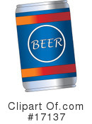 Royalty-Free (RF) Beer Clipart Illustration #17137