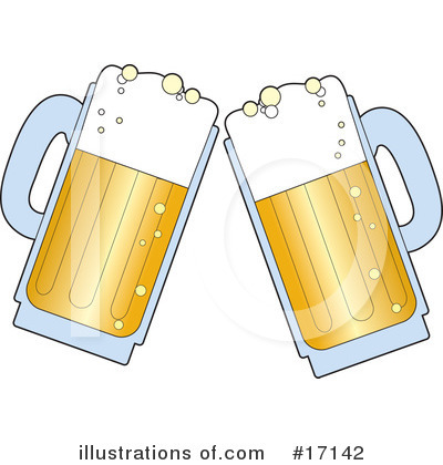 Royalty-Free (RF) Beer Clipart Illustration by Maria Bell - Stock Sample #17142