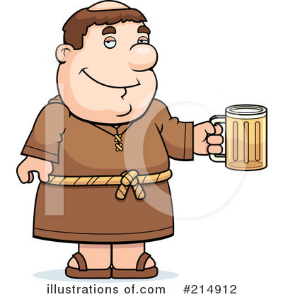 Monk Clipart #214912 by Cory Thoman