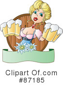 Royalty-Free (RF) Beer Clipart Illustration #87185