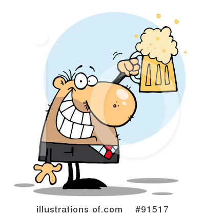 Businessman Clipart #91517 by Hit Toon