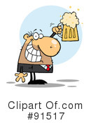 Royalty-Free (RF) Beer Clipart Illustration #91517