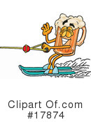 Beer Mug Character Clipart #17874 by Toons4Biz