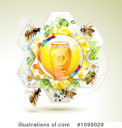 Honey Bee Clipart #1099028 by merlinul