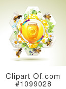 Royalty-Free (RF) Bees Clipart Illustration #1099028