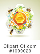 Royalty-Free (RF) Bees Clipart Illustration #1099029