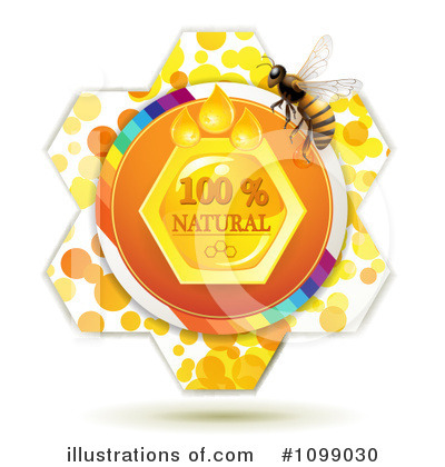 Honey Bee Clipart #1099030 by merlinul