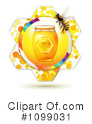 Royalty-Free (RF) Bees Clipart Illustration #1099031