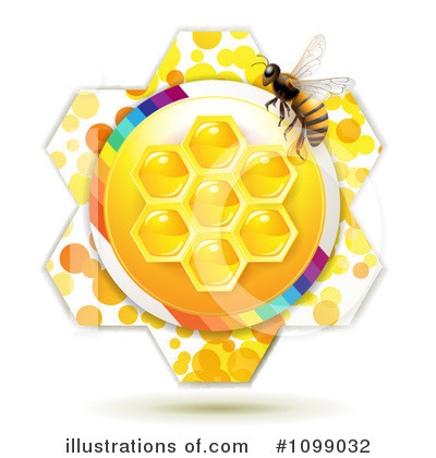 Honey Bee Clipart #1099032 by merlinul