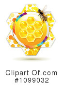 Royalty-Free (RF) Bees Clipart Illustration #1099032