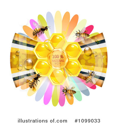 Honey Bee Clipart #1099033 by merlinul