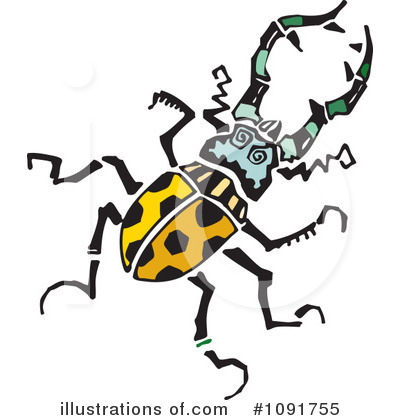 Insect Clipart #1091755 by Steve Klinkel