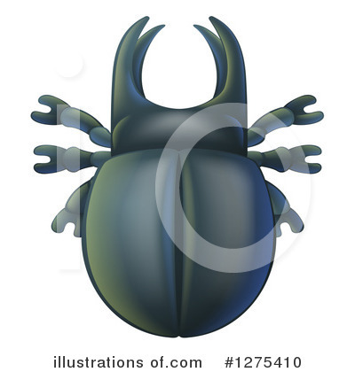 Beetle Clipart #1275410 by AtStockIllustration