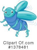 Beetle Clipart #1378481 by BNP Design Studio