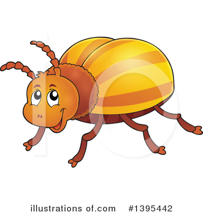 Insect Clipart #1395442 by visekart