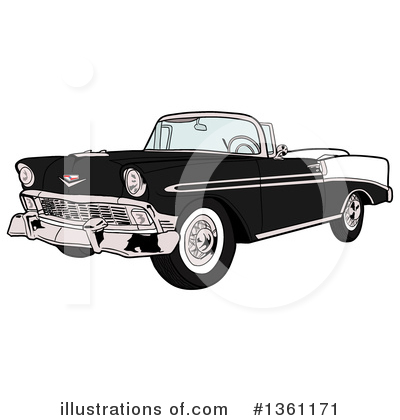 Bel Air Clipart #1361171 by LaffToon