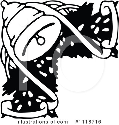 Royalty-Free (RF) Bell Clipart Illustration by Prawny Vintage - Stock Sample #1118716