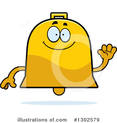 Bell Clipart #1302579 by Cory Thoman