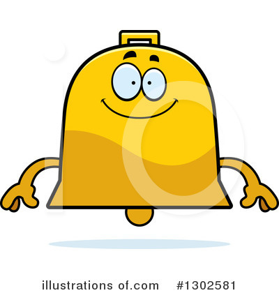 Bell Clipart #1302581 by Cory Thoman