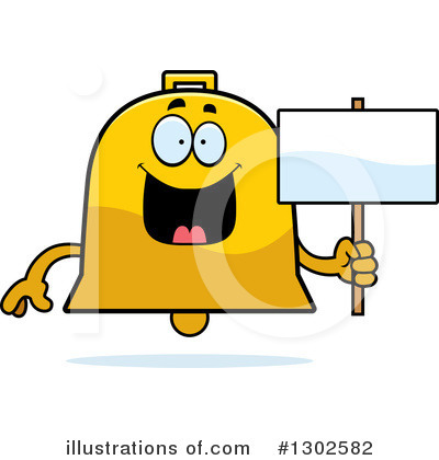 Bell Clipart #1302582 by Cory Thoman