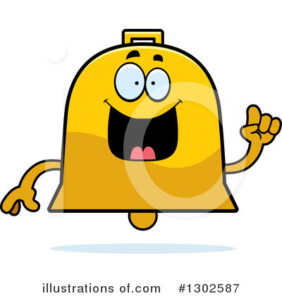 Bell Clipart #1302587 by Cory Thoman