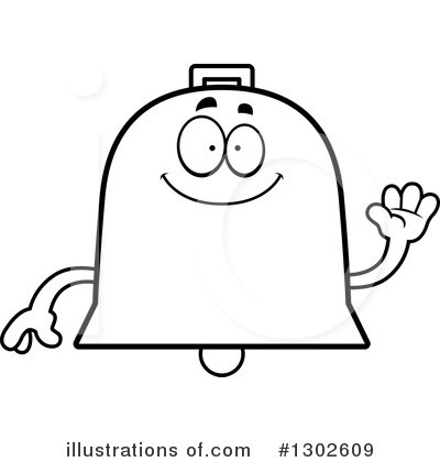 Bell Clipart #1302609 by Cory Thoman