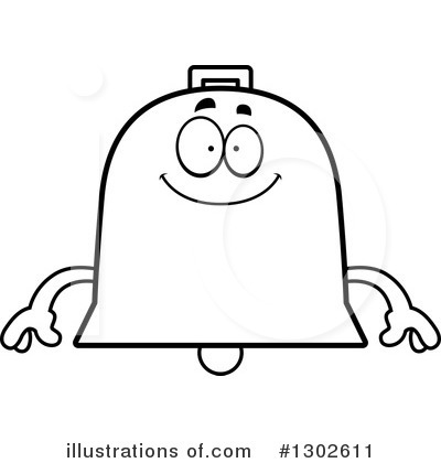 Bell Clipart #1302611 by Cory Thoman