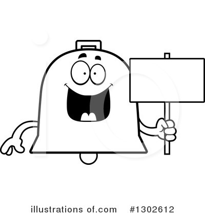 Bell Clipart #1302612 by Cory Thoman